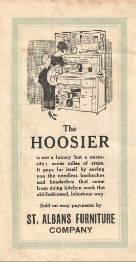 Hoosier Cabinet-St. Albans Furniture